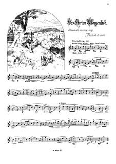 Musikalisches Bilderbuch, Op.41: Des Hirten Morgenlied by Alexis Holländer
