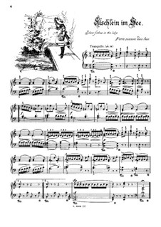 Musikalisches Bilderbuch, Op.41: Fischlein im See by Alexis Holländer