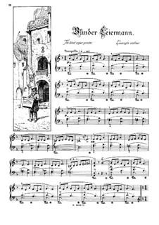 Musikalisches Bilderbuch, Op.41: Blinder Leiermann by Alexis Holländer