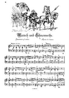Musikalisches Bilderbuch, Op.41: Marsch und Fahnenweihe by Alexis Holländer