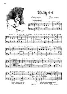 Musikalisches Bilderbuch, Op.41: Nachtgebet by Alexis Holländer