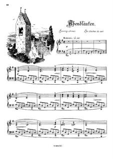 Musikalisches Bilderbuch, Op.41: Abendläuten by Alexis Holländer