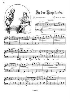 Musikalisches Bilderbuch, Op.41: In der Tanzstunde by Alexis Holländer