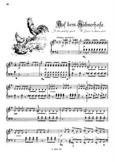 Musikalisches Bilderbuch, Op.41: Auf dem Hühnerhofe by Alexis Holländer