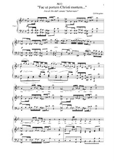 Stabat Mater: No.10 Fac ut portem Christi mortem... by Giovanni Battista Pergolesi