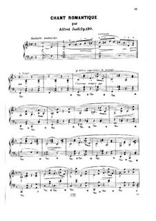 Chant romantique, Op.130: Chant romantique by Alfred Jaell