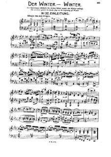 Die Jahreszeiten, Hob.XXI/3: Teil IV. Der Winter, Nr.32-40 by Joseph Haydn