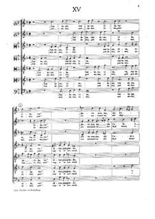 Lagrime di San Pietro: No.15-21 by Orlando di Lasso