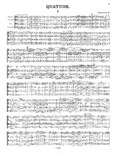 Streichquartett Nr.4, Op.33: Streichquartett Nr.4 by Alexander Kopylow