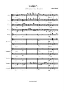 Kängurus: For large ensemble by Camille Saint-Saëns