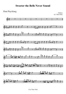 Süßer die Glocken nie klingen: Für Flöte by folklore