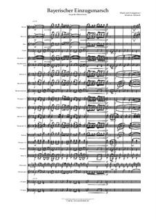 Bayerischer Einzugsmarsch: For wind band by musikschmie.de