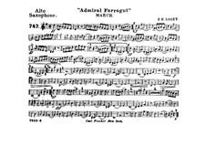 Admiral Farragut: Alto saxophone part by Frank Hoyt Losey