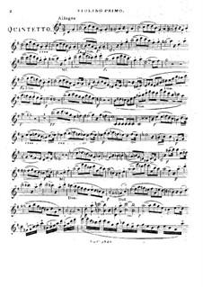 Zwei Streichquintette, Op.33: Quintett Nr.2 – Violinstimme I by Louis Spohr