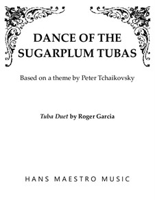 Nr.3 Tanz der Zuckerfee: For duo tubas by Pjotr Tschaikowski