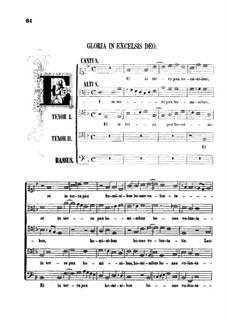 Messe 'Qual donna attende a gloriosa fama': Gloria und Credo by Orlando di Lasso