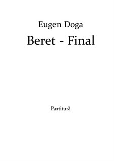 Beret: For chamber orchestra by Eugen Doga