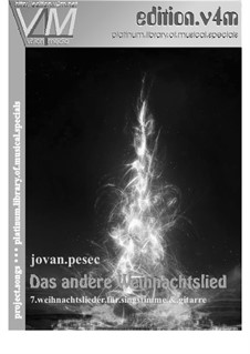 Das andere Weihnachtslied: Für Singstimme und Gitarre by Jovan Pesec