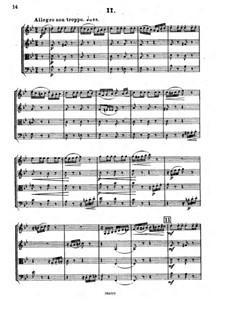 Streichquartett Nr.3 in Es-Dur, Op.91: Teil II by César Cui