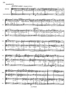 Zéphyre, RCT 61: Appendix by Jean-Philippe Rameau