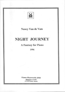 Night Journey: Night Journey by Nancy Van de Vate