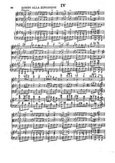Klavierquartett Nr.1 in g-Moll, Op.25: Teil IV by Johannes Brahms