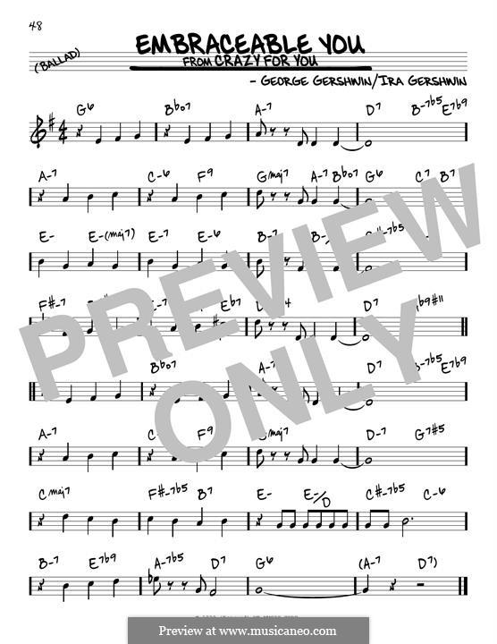 Embraceable You: Für Gitarre by George Gershwin