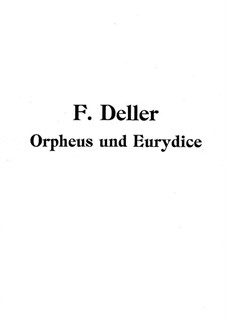 Orpheus and Eurydice: Orpheus and Eurydice by Florian Johann Deller
