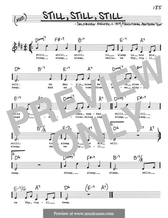 Still, Still, Still: Für Gitarre by folklore