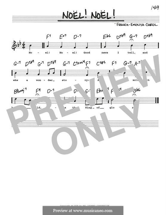 Noel! Noel!: Für Gitarre by folklore