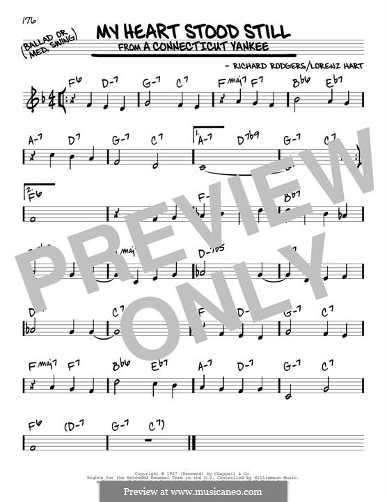 My Heart Stood Still: Für Gitarre by Richard Rodgers