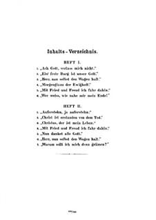Choralpräludien, Op.79b: Nr.1-6 für Orgel by Max Reger