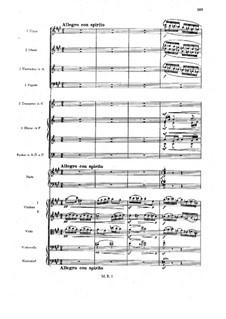 Sinfonietta in A-Dur für Orchester, Op.90: Teil IV by Max Reger