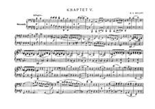 Streichquartett Nr.18 in A-Dur, K.464: Bearbeitung für Klavier, vierhändig by Wolfgang Amadeus Mozart