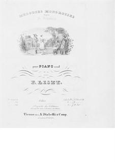 Ungarische Melodien: Ungarische Melodien, S.425 by Franz Schubert