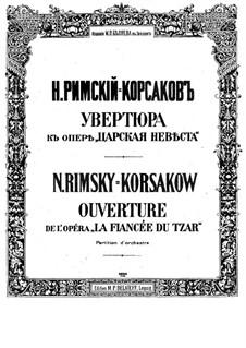 Zarenbraut: Ouvertüre by Nikolai Rimsky-Korsakov