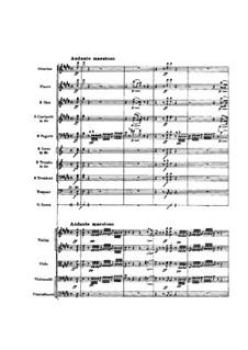 Ouvertüre: Partitur by Gioacchino Rossini