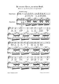 Frauenliebe und Leben, Op.42: Nr.7 An meinem Herzen, an meiner Brust by Robert Schumann