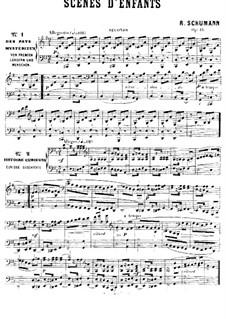 Vollständiger Satz: Für Klavier, vierhändig by Robert Schumann