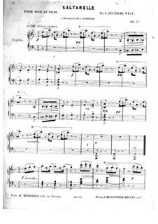 Saltarelle, Op.57: Saltarelle by Louis James Alfred Lefébure-Wely