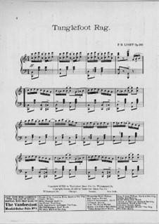 Tanglefoot Rag, Op.300: Tanglefoot Rag by Frank Hoyt Losey