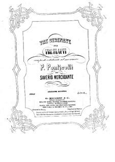 Drei Serenaden für drei Flöten: Flötenstimme I by Saverio Mercadante
