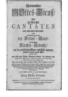 Harmonischer Gottesdienst: Buch I by Georg Philipp Telemann