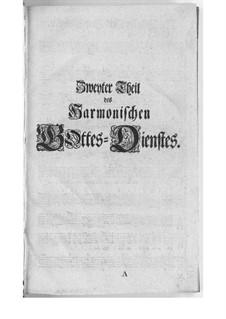 Harmonischer Gottesdienst: Buch II by Georg Philipp Telemann