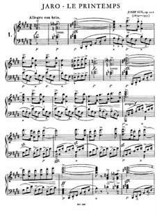 Frühling, Op.22a: Frühling by Josef Suk