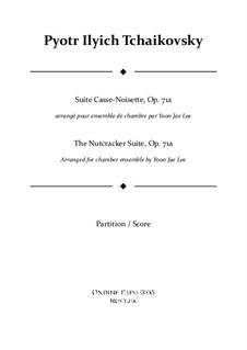 Vollständiger Teile: For chamber ensemble – full score by Pjotr Tschaikowski