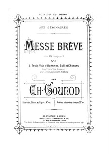 Messe Nr.5 in C-Dur: Kyrie by Charles Gounod