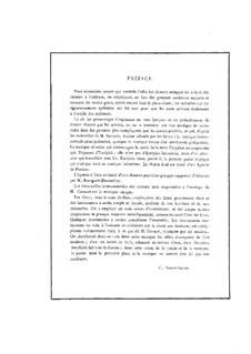 Antigone: Klavierauszug mit Singstimmen by Camille Saint-Saëns