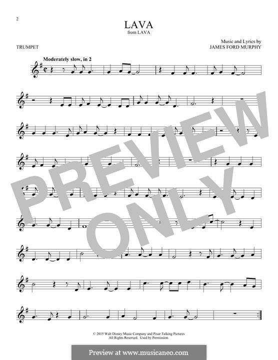 Lava: Für Trompete by James Murphy