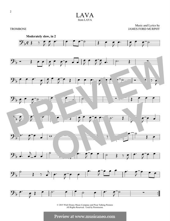 Lava: For trombone by James Murphy